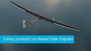 Solvay products on board Solar Impulse