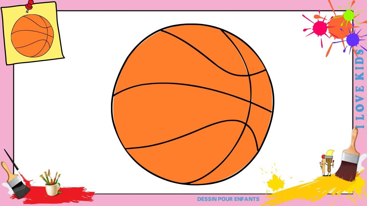 Dessin Ballon De Basket Comment Dessiner Un Ballon De Basket