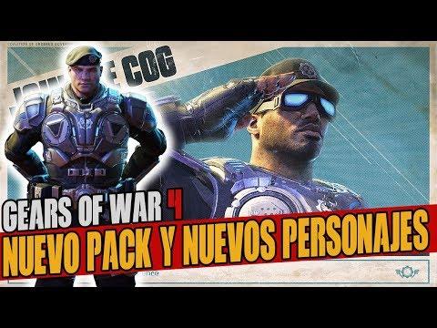 NUEVAS NOTICIAS! GEARS OF WAR 4 | NUEVO CGO OFFICER GEAR PACK, NUEVOS PERSONAJES Y SKINS GRATIS!!