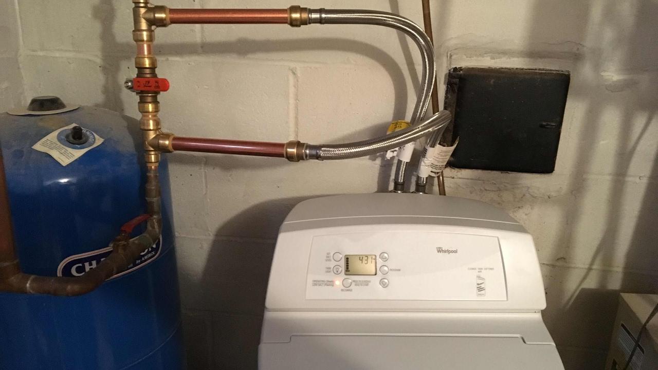 DIY Home Water Softener Install