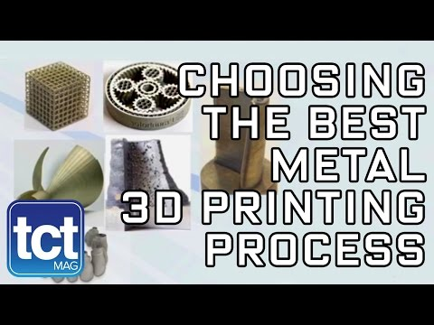 How to choose the best metal 3D printing process | Fraunhofer | TCT Show