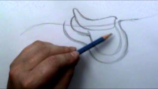How to draw a English Saddle