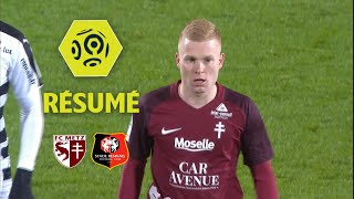 FC Metz - Stade Rennais FC (1-1)  - Résumé - (FCM - SRFC) / 2017-18