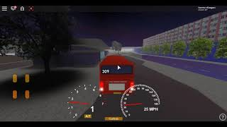 Roblox London Hackney & Limehouse bus Simulator ELC Esteem Dart CTP Floored on the 309 ~ Dirverson