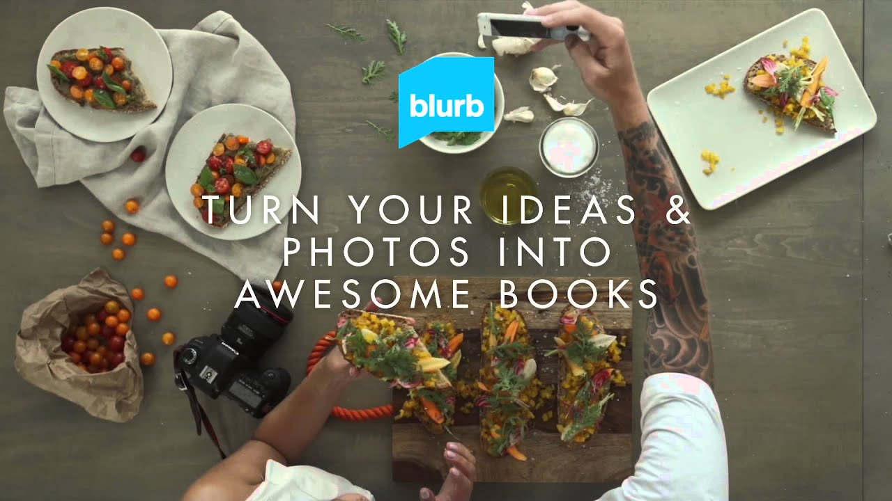 Use Blurb to Make a Book Easily. Make a Book. Leave Your Mark.