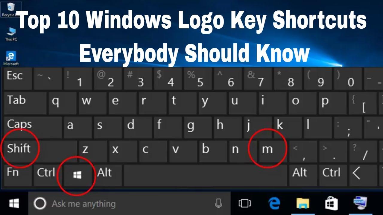 windows logo key not working