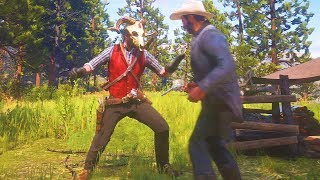 Red Dead Redemption 2 - Epic Brutal & Funny Gameplay Moments Compilation #10