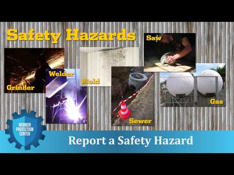 Worker Protection Center: Report a Safety Hazard