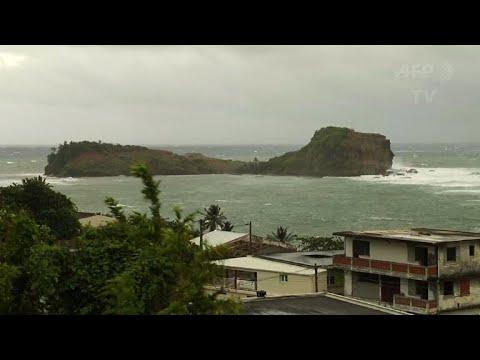 """Ouragan Maria: alerte """"violette"""" cyclonique en Martinique"""