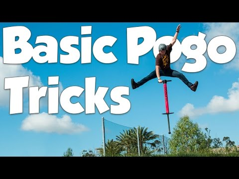 5 Basic Pogo Tricks   Vurtego Pogo Beginner Tutorials