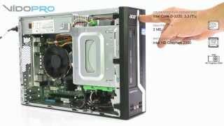 обзор Acer Veriton X4620G - десктоп для офиса и дома. vido.com.ua