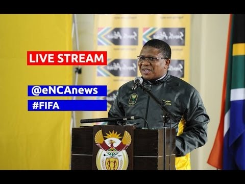 LIVE: Minister of Sports Fikile Mbalula on FIFA allegations