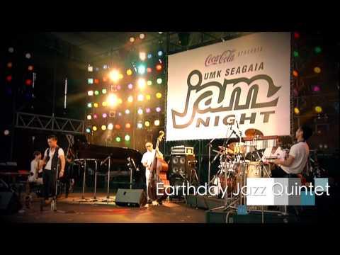 "Earthday Jazz Quintet ""E.J.Q""@UMK SEAGAIA Jam Night2013"
