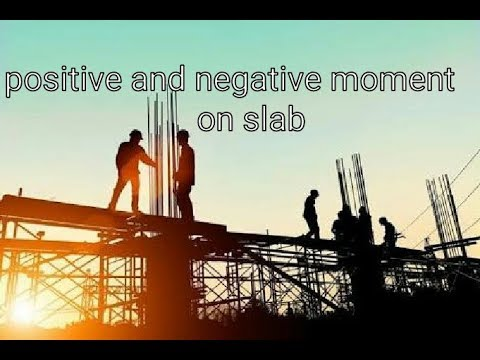 Positive And Negative Moment Distribution In Flat Slab