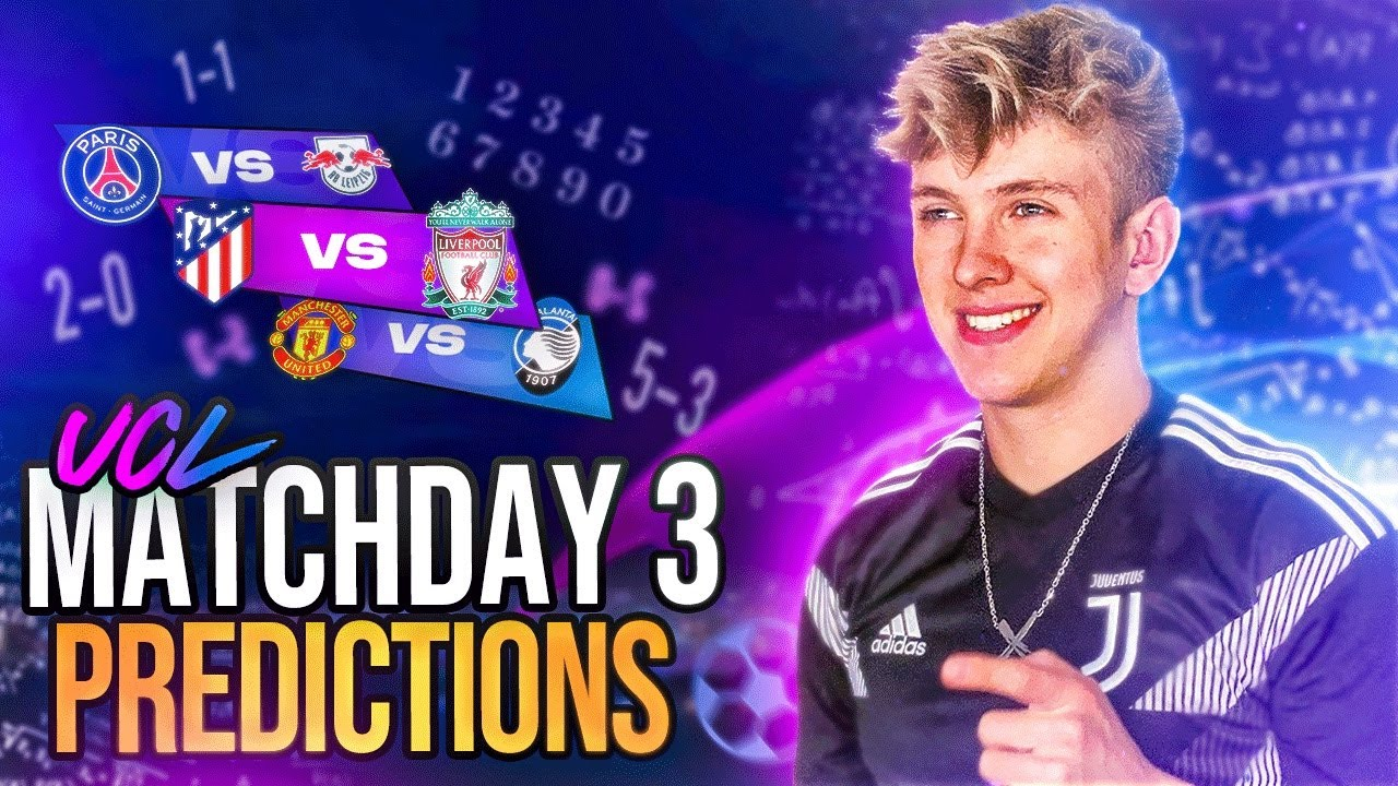 Download My Champions League Predictions | Matchday 3