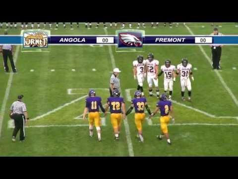 FREMONT at ANGOLA HS FOOTBALL 09-04-15