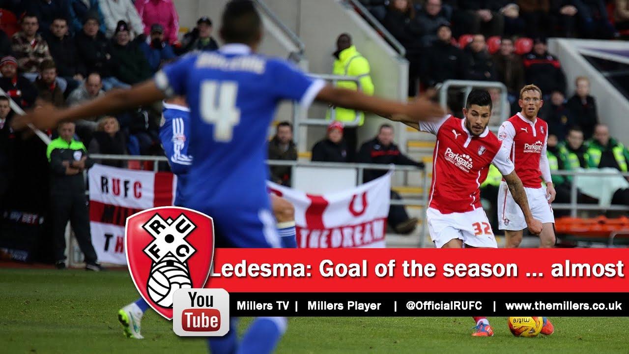 Emmanuel Ledesma goal of the season    almost