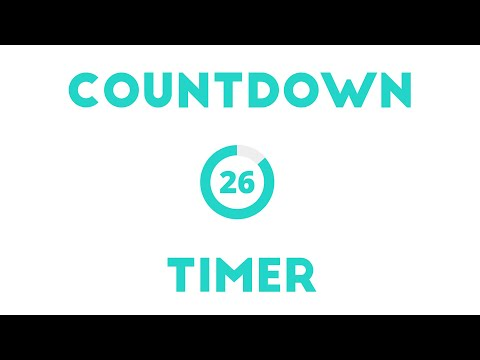 Countdown Timer   Using HTML & CSS , JS   2020