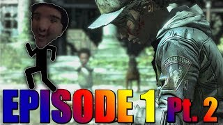 ARE YOU KIDDING ME WITH THIS ENDING RIGHT NOW! The Walking Dead - The Final Season - Episode 1 Pt. 2
