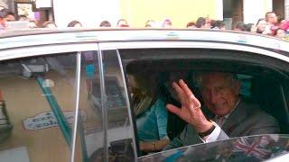 Carlos, príncipe de Gales, en Mineral del Monte 2014