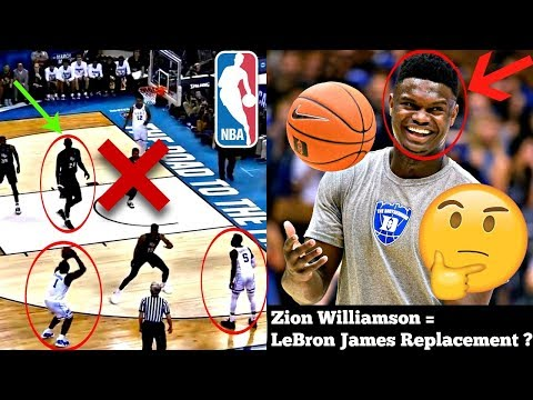 This is the ULTIMATE NBA Scouting Report on Zion Williamson... Is he REALLY the Next LeBron James?