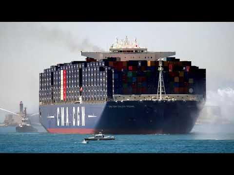 Visite port du Havre Première partie