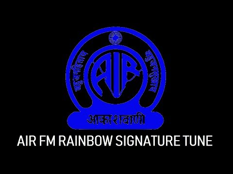 AIR FM Rainbow Signature Tune