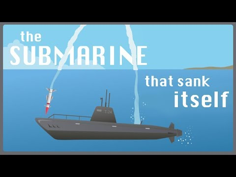 The Submarine that Sank Itself