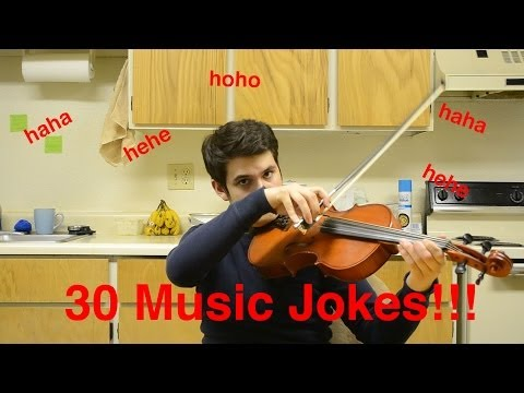 30 Orchestra Jokes in Under 3 Minutes!