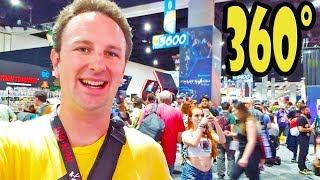 360 Video San Diego Comic Con 2018 Exhibit Hall
