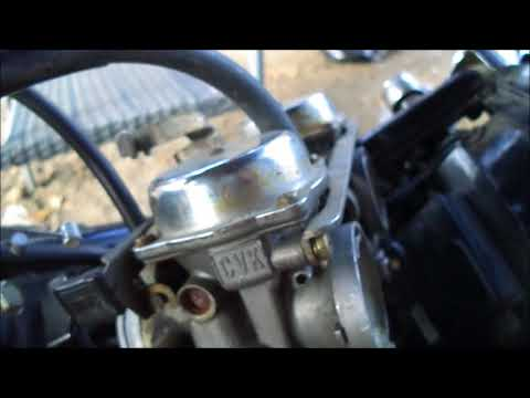 kawasaki vulcan 500 carburetor, throttle linkage and cables