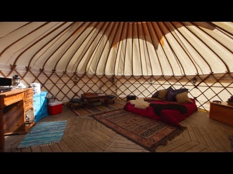 Greentraveller Video of Eco Retreats, nr Machynlleth, Mid Wales/Powys