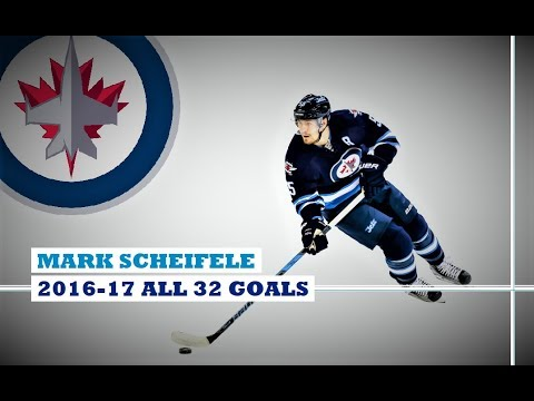 Mark Scheifele (#55) ● ALL 32 Goals 2016-17 Season (HD)