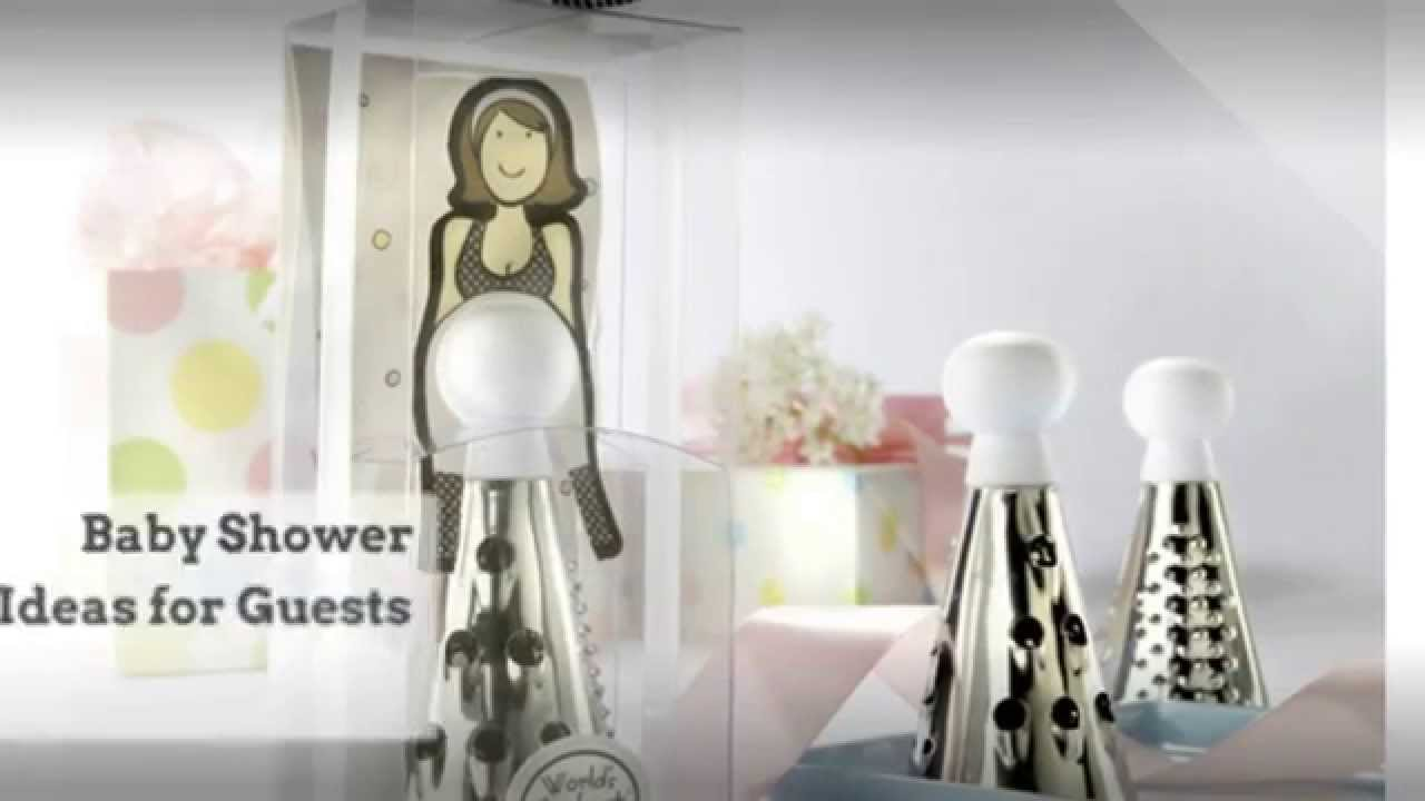 Baby Shower Gift Ideas for Guests - YouTube