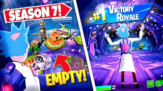 *NEW* HIDING Inside MOTHERSHIP UFO LOCATION *ALL GAME* In Fortnite! (Crazy Glitch!)