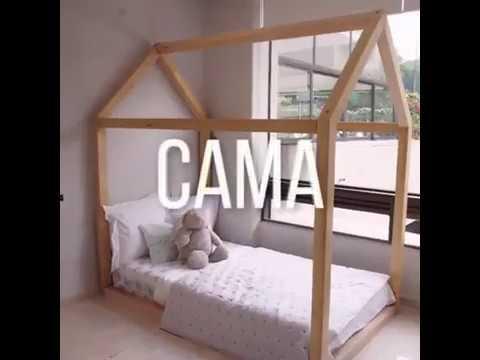 Cama casa youtube - Hacer una cama de madera ...