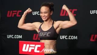 UFC on FOX 22 Weigh-Ins: Michelle Waterson Makes Weight