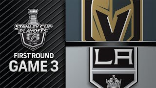 Golden Knights rally in the 3rd, take 3-0 series lead