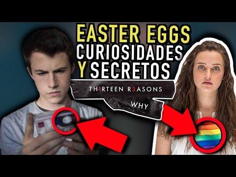 13 REASONS WHY (Netflix) Easter eggs / Curiosidades / Secretos - Por 13 Razones