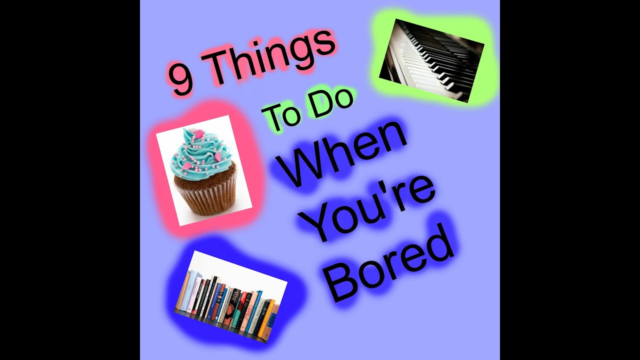 9 things i do when i 39 m bored diy ideas crafts etc youtube. Black Bedroom Furniture Sets. Home Design Ideas