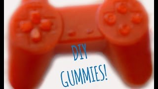 DIY Video Game Controller Gummies