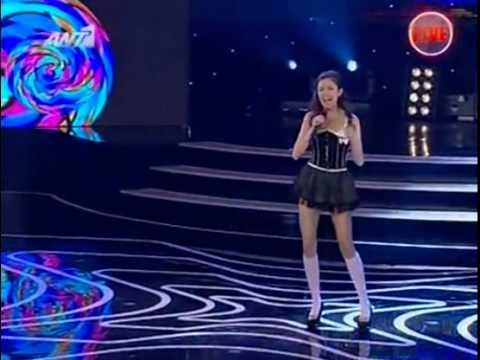 Nikki Ponte - X Factor 3 Greece - Live Show 1