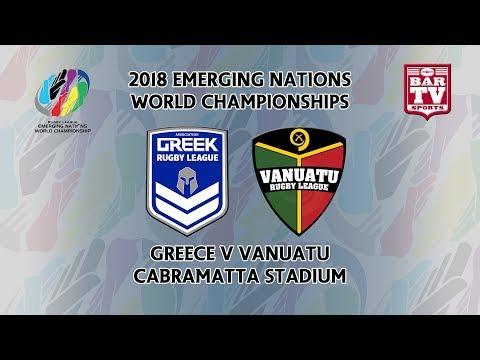 2018 Emerging Nations World Championships – Pool B – Greece v Vanuatu