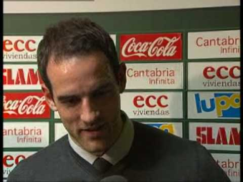 Post-match comments (Racing Santander - Real Madrid)