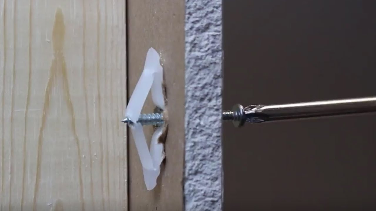 Learn How to Use a Variety of Drywall Anchors