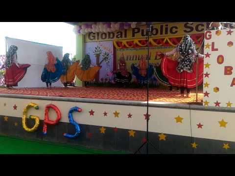 Mat Ched Balam Mere Chundad Ne   Haryanvi Folk Dance   School Function     KING DANCE CREW