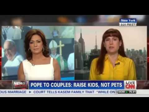 CNN Promotes Anti-Catholic Feminist Amanda Marcotte's Rebuke Of Pope Francis