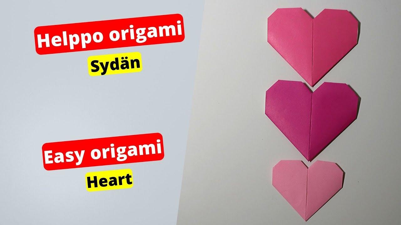Origami Sydän