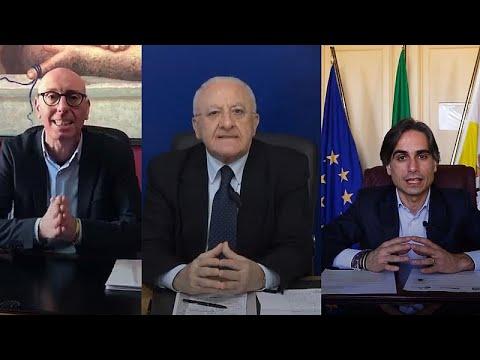 İtalya'da yerel yöneticiler koronavirüs nedeniyle halkı evde tutmak için yoğun mücadele veriyor