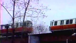 MBTA Elevated Orange Line, Boston, MA, Spring 1987.